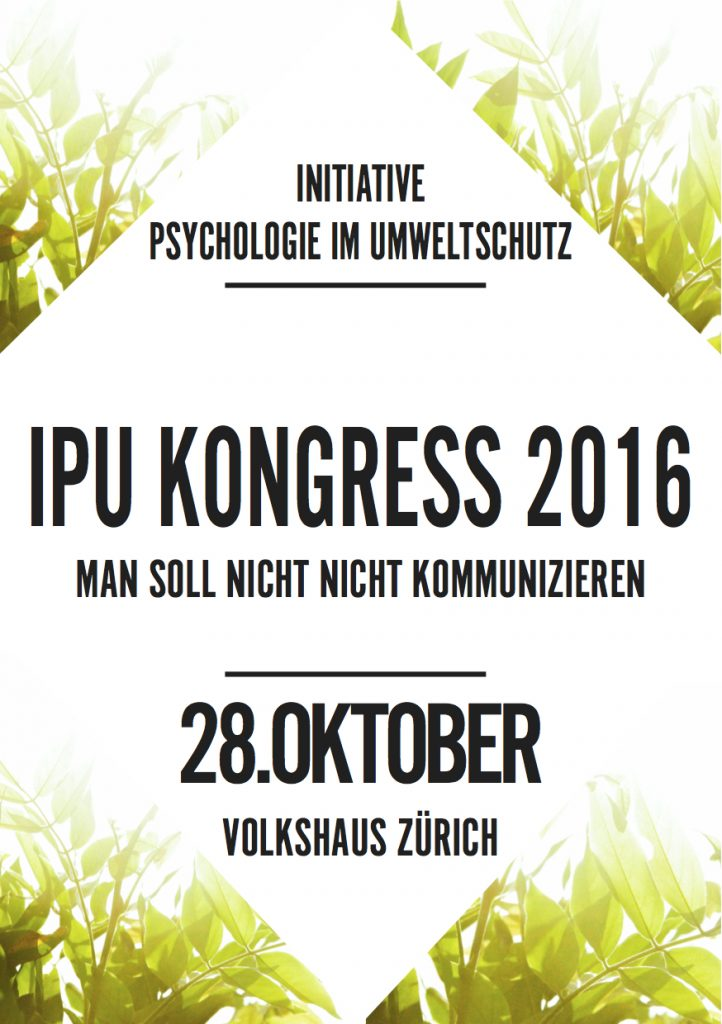 Flyer IPU Kongress 2016